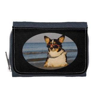 ビーチのクールな犬 ウォレット