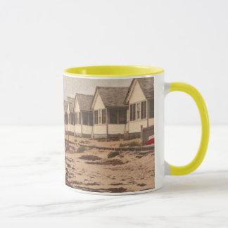 ビーチのコテッジ マグカップ