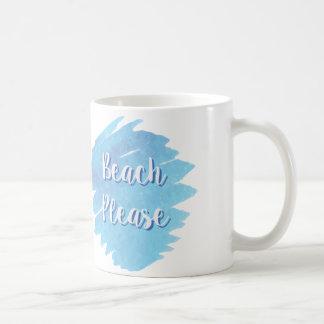 ビーチのコーヒー・マグ コーヒーマグカップ
