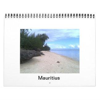 ビーチのテーマのカレンダー カレンダー