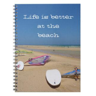 ビーチのテーマのノート ノートブック
