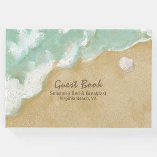 ビーチのテーマビジネス来客名簿 ゲストブック