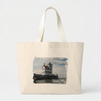 ビーチのバッグ ラージトートバッグ