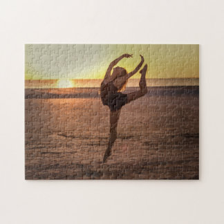 ビーチのバレエ ジグソーパズル