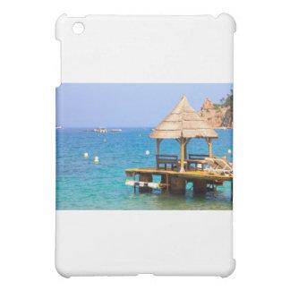 ビーチのパビリオン iPad MINIケース