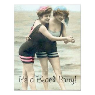ビーチのパーティー カード