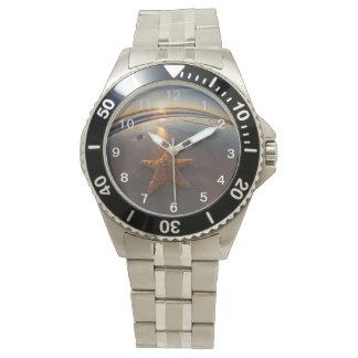 ビーチのヒトデ 腕時計