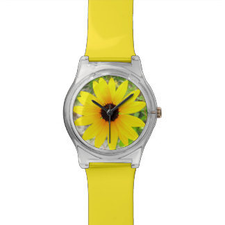 ビーチのヒマワリの腕時計 腕時計