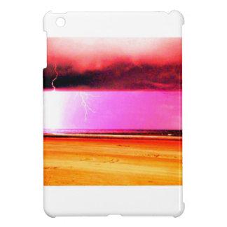 ビーチのビーチ力の嵐は美しいです iPad MINI CASE