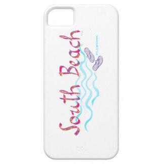 ビーチのマイアミの南ビーチサンダル iPhone SE/5/5s ケース