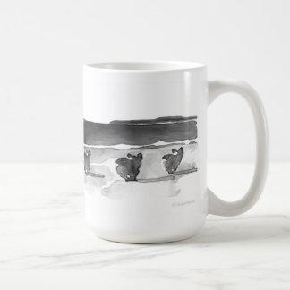 ビーチのマグのコーギー コーヒーマグカップ