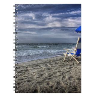 ビーチのリラックス ノートブック