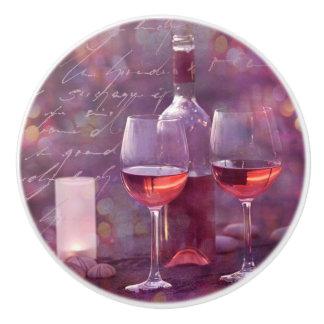 ビーチのワイン セラミックノブ