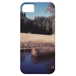 ビーチの丸太 iPhone SE/5/5s ケース