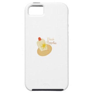 ビーチの供給 iPhone SE/5/5s ケース
