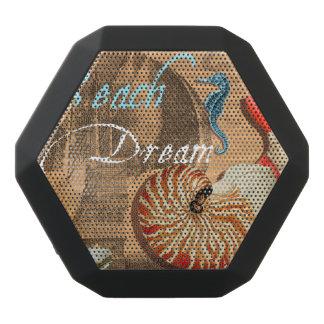 ビーチの夢 ブラックBluetoothスピーカー