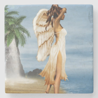 ビーチの天使 ストーンコースター