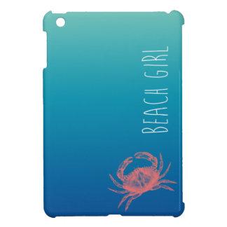 ビーチの女の子 iPad MINIカバー