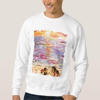 ビーチの子供 スウェットシャツ