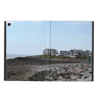 ビーチの家のiPadの空気写真