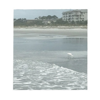 ビーチの小さい鷲 ノートパッド