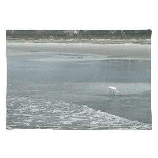 ビーチの小さい鷲 ランチョンマット