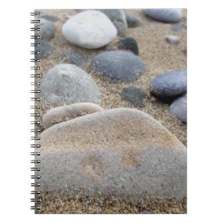 ビーチの小石のノート ノートブック