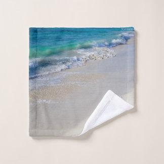 ビーチの干潮 ウォッシュタオル