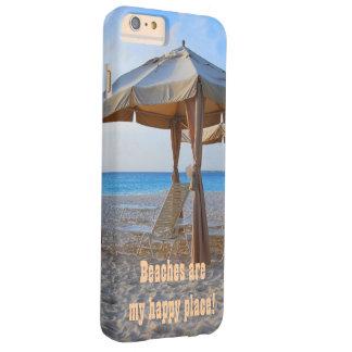 ビーチの幸せな場所 BARELY THERE iPhone 6 PLUS ケース