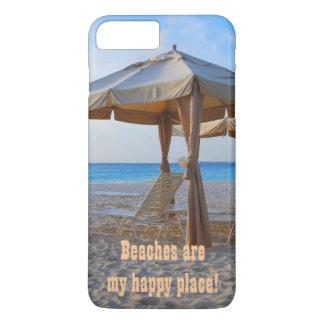 ビーチの幸せな場所 iPhone 8 PLUS/7 PLUSケース