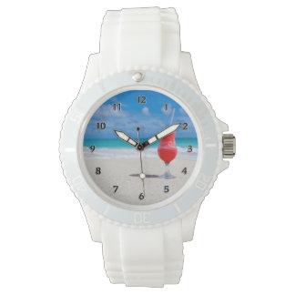 ビーチの応援 腕時計