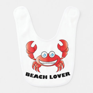 ビーチの恋人-ベビー用ビブ ベビービブ