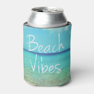 ビーチの感情 缶クーラー