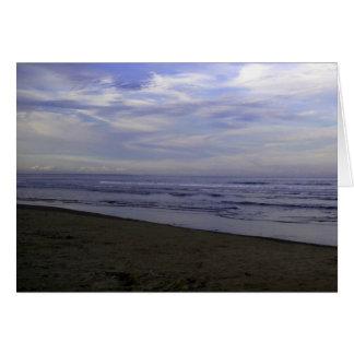ビーチの挨拶状の写真 グリーティングカード