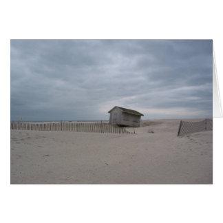 ビーチの掘っ建て小屋 カード