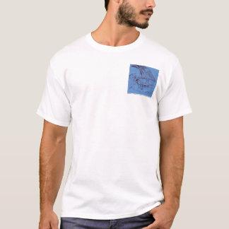 ビーチの掘っ建て小屋 Tシャツ