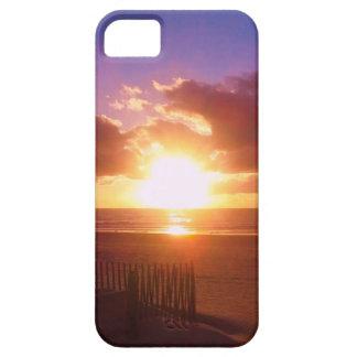 ビーチの日の出のiPhoneの場合 iPhone SE/5/5s ケース