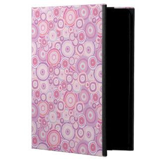 ビーチの日没のピンクの円 iPad AIRケース