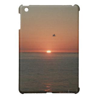 ビーチの日没のipadの場合 iPad miniケース