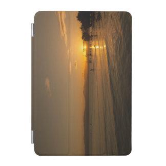 ビーチの日没のiPadカバー iPad Miniカバー
