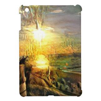 ビーチの日没 iPad MINI CASE