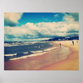 ビーチの日 ポスター