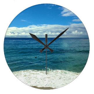 ビーチの時計 ラージ壁時計