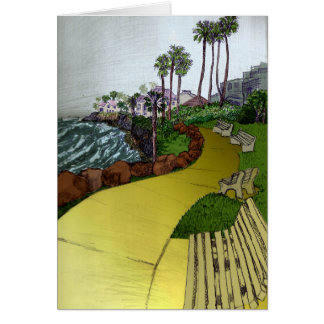 ビーチの景色カード カード
