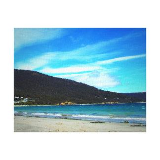 ビーチの景色 キャンバスプリント