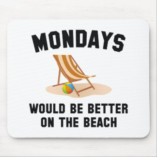 ビーチの月曜日 マウスパッド