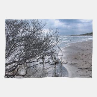 ビーチの枝 キッチンタオル