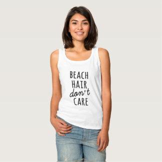ビーチの毛はワイシャツを気にしません タンクトップ