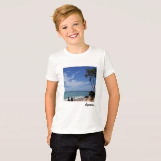 ビーチの毛深い日 Tシャツ