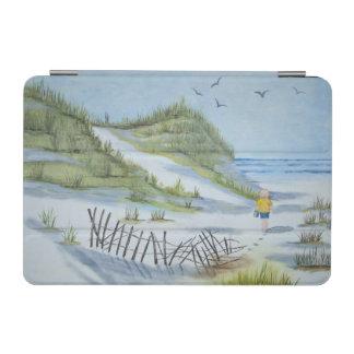 ビーチの水彩画 iPad MINIカバー